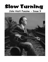 Issue 9 - The John Hiatt Archives
