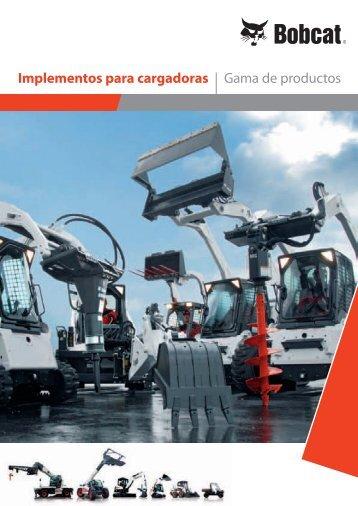 implementos para cargadoras | Gama de productos - Bobcat.eu