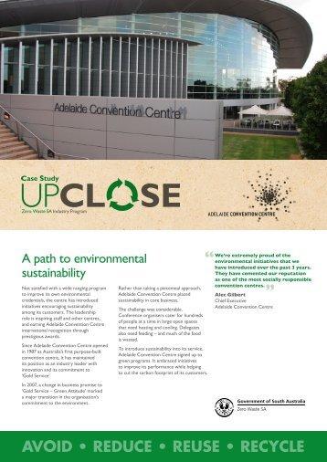 Adelaide Convention Centre - Zero Waste SA - SA.Gov.au