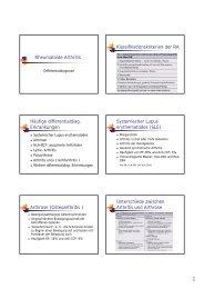 Differentialdiagnosen - echsi.de