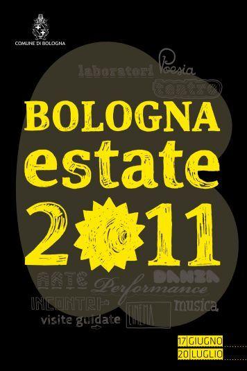 Scarica Libretto fino al 20 Luglio - Comune di Bologna