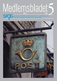 Medlemsblad 5 2011 - SFOG