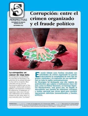 Corrupción: entre el crimen organizado y el fraude ... - Confidencial