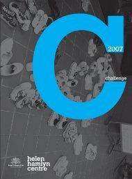 Challenge 2007 - Helen Hamlyn Centre - Royal College of Art