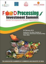 Food Processing_Bihar - The Associated Chambers of Commerce ...