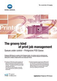 The groovy kind of print job management