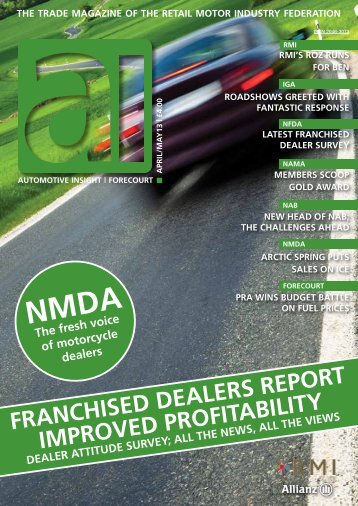 April/May 2013 Issue - Retail Motor Industry Federation