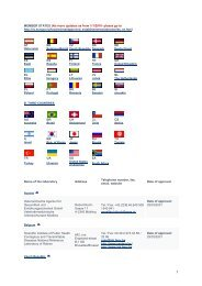 MEMBER STATES (No more updates as from 1/1/2010- please go to ...