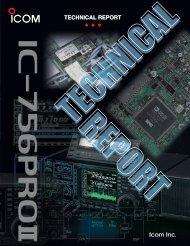 IC-756Pro II Technical Report