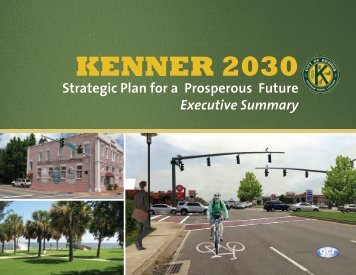 KENNER 2030: Strategic Plan - the City of Kenner
