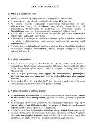 Az athéni demokrácia kialakulása és működése