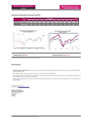 Performance do Índice Millennium bcp Value & Growth US Notas ...
