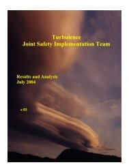 turbulence jsit final report - Commercial Aviation Safety Team