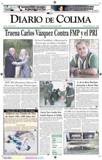 NEGRO AMARILLO MAGENTA CIAN No Será Candidato, a Menos ...