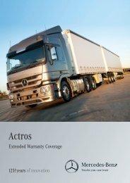 Warranty Brochure (2402 KB, PDF) - Mercedes-Benz