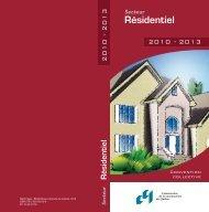 Convention collective du secteur résidentiel 2010-2013 - CCQ