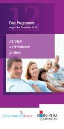 Das Programm beraten unterstützen fördern - im Klinikum Oldenburg
