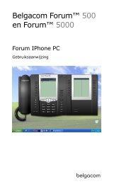 Forum IPhone PC - Belgacom