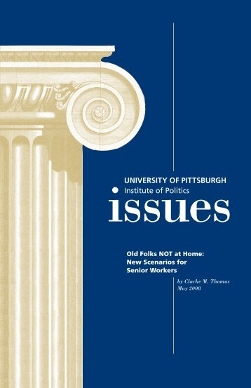 the latest Issue Brief - University of Pittsburgh - Institute of Politics