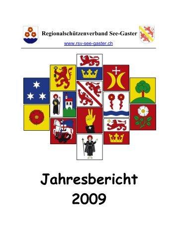 Jahresbericht 2009 - RSV See-Gaster