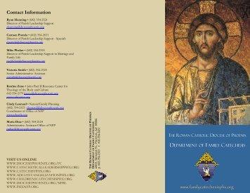 FC Brochure (FINAL) - Diocese of Phoenix