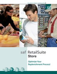 saf RetailSuite - RIS News