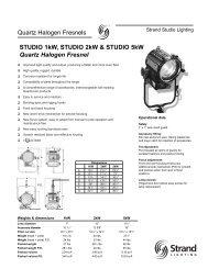2002-120V Studio 1-2-5kW.qxd - TRANSCOLOR