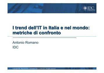 metriche di confronto - Guide Share Italia