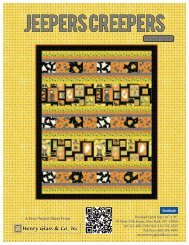 Jeepers Creepers Pieced Quilt - Henry Glass & Co