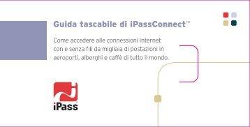 Guida tascabile di iPassConnectTM