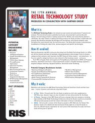 RETAIL TECHNOLOGY STUDY - RIS News