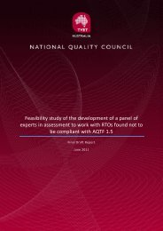 Feasibility Study - Panel of assessment experts - National Skills ...