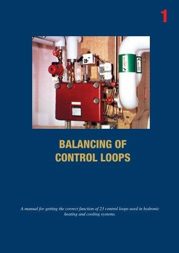 1 balancing of control loops