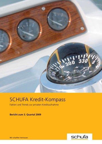 Bericht 3. Quartal (PDF, 0.3 MB) - SCHUFA-Kredit-Kompass.de