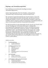 Vorlesung Regelungs- und Automatisierungstechnik