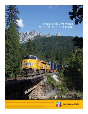 View 2010 Fact Book - Union Pacific