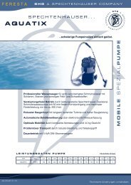 Wassersauger Aquatix - FERESTA GmbH