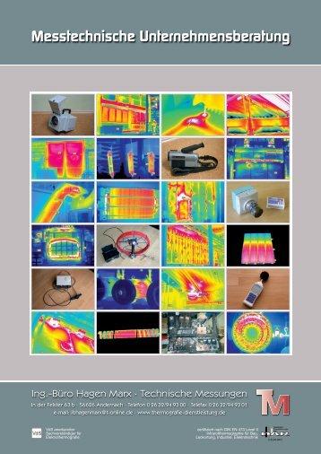 Prospekt Unternehmensberatung - Thermografie Marx ...