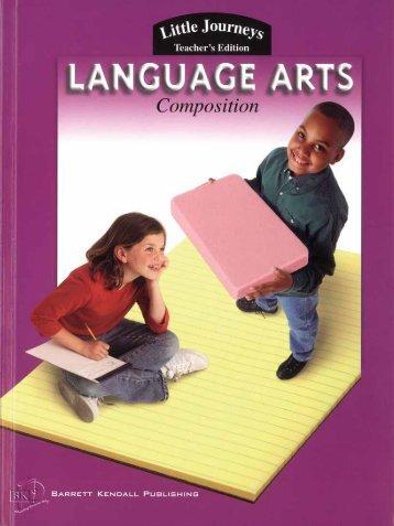 Language Arts Composition Teacher's Edition Level D - Perfection ...