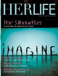 The Silhouettes - HER LIFE Magazine