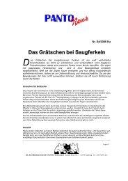 Das Grätschen bei Saugferkeln - HL Hamburger Leistungsfutter GmbH