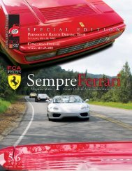 May/June 2005 - Ferrari Club of America - Southwest Region