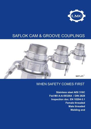 SAFLOCK couplings - LMC-Couplings