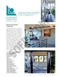 LASSIE Alain - PRIOU Lionel Architectes D.P.L.G. - L'Architecture
