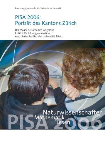 PISA 2006: Porträt des Kantons Zürich
