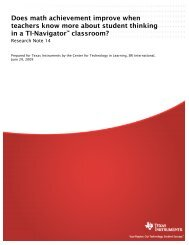 Reference: (Center for Technology in Learning ... - Texas Instruments
