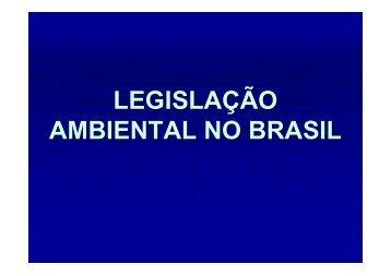 Legislação Ambiental no Brasil - 2009
