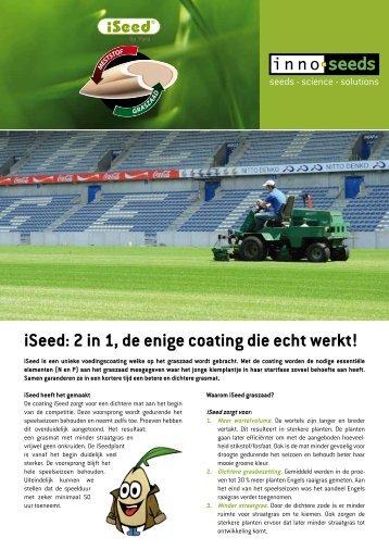 Bekijk de leaflet van iSeed sportvelden - Innoseeds