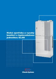 Katalog teplovzdušného vytápění ELAN - Štorc