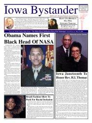 Obama Names First Black Head Of NASA - Drake University Law ...